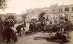 Bazar di Elizavetpol o Genje, circa 1910.