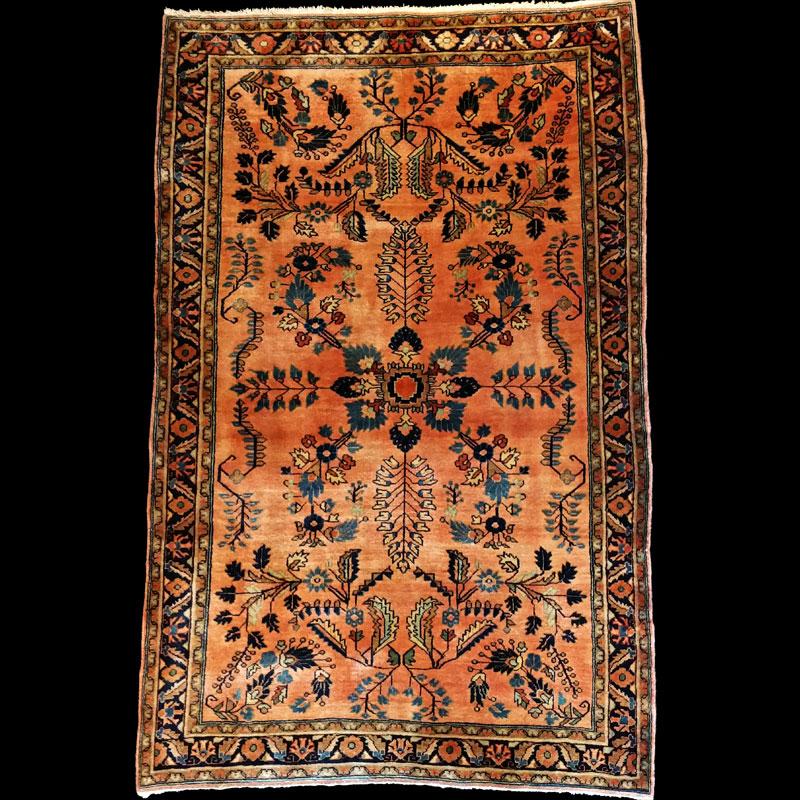 tappeto persiano antico SARUK~MOHAJERAN - Carpetbroker