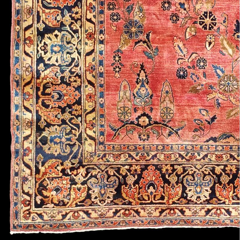 tappeto-Sarouk-persiano-antico-Saruk-antico - Carpetbroker