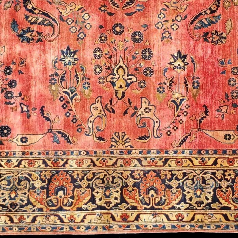 tappeto-Saruk-persiano-antico-Sarouk-antico - Carpetbroker
