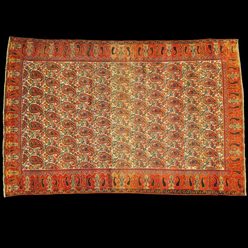 Tappeto persiano antico mishan malayer carpetbroker - Tappeti persiani antichi ...