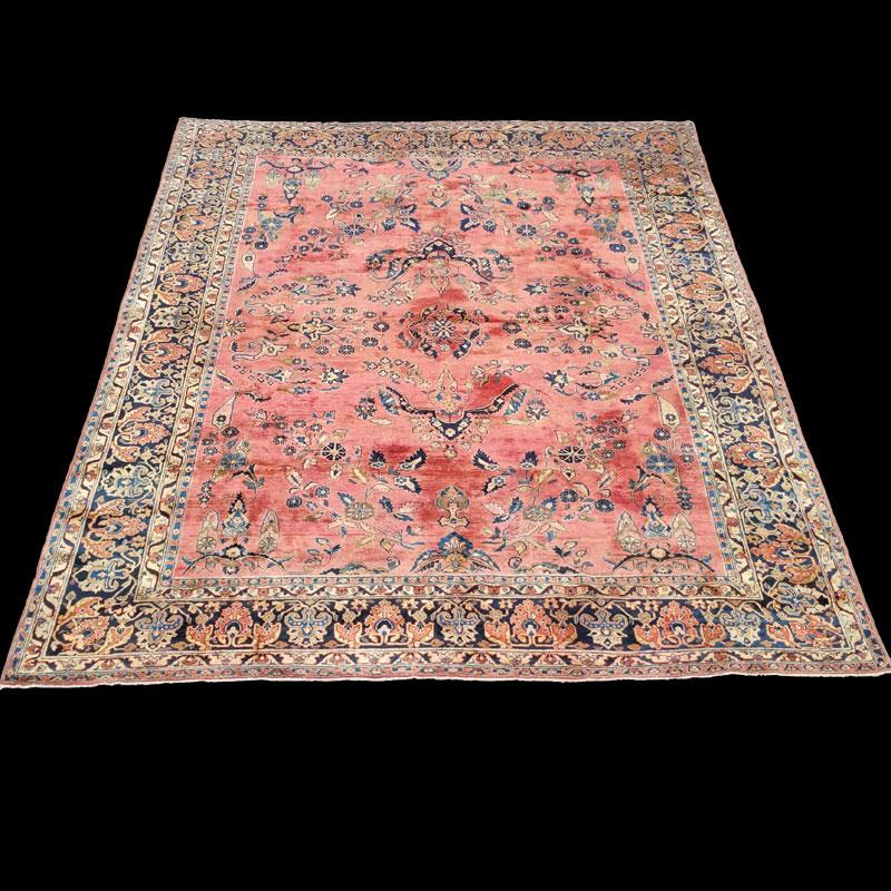 tappeto-persiano-antico-Sarouk-Saruk-antico - Carpetbroker