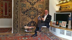 Sandro Manico Collezionista di tappeti antichi