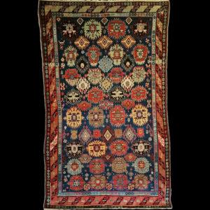 tappeto caucasico antico Kazak