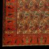 antico tappeto persiano Mishin Malayer colori naturali motivo bothé