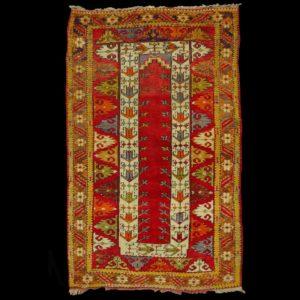 Melas-antico-tappeto-anatolico-Ada-Melas-tappeto-a-apreghiera turco-antico