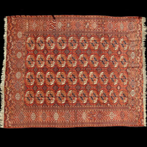 tappeto turcomanno antico TEKKE (BUKHARA TEKKE)