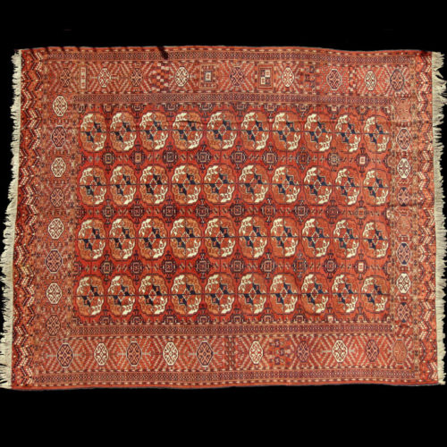 tappeto Bukhara Tekke Antico Turcomanno