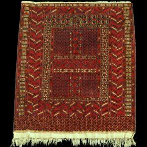 tappeto turcomanno antico TEKKE ENGSI  (HACHLU)
