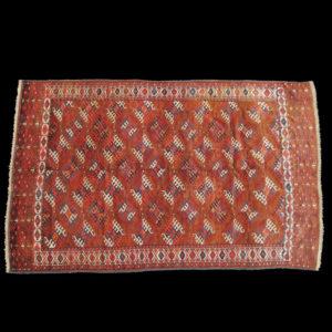 tappeto turcomanno antico YOMUT (BUKHARA YOMUD)