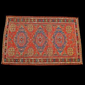 tappeto caucasico antico SUMAK