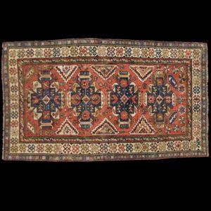 tappeto caucasico antico SUMAK DAGHESTAN