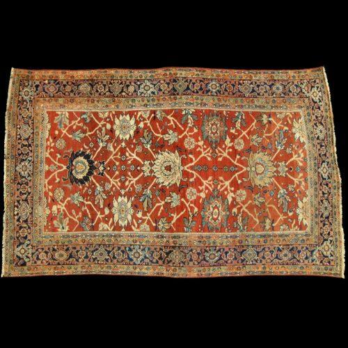 Zigler Mahal Sultanabad tappeto persiano antico Ziegler