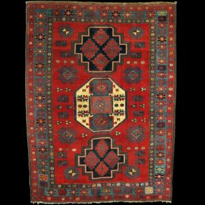 tappeto caucasico antico KAZAK 4