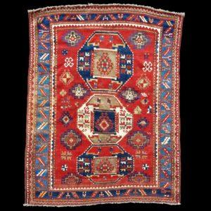 tappeto caucasico antico KAZAK 1