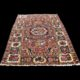 tappeto-antico-persiano-Bakhtiyari-Fara-Downbeh-gol-farang