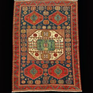 tappeto caucasico antico KAZAK 11